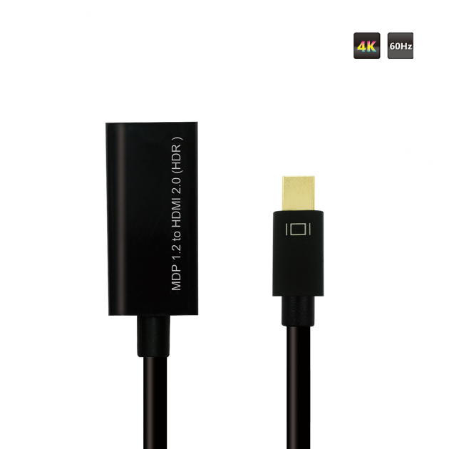 DP 1.2 TO HDMI 2.0 (HDR) Converter 2